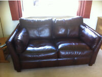 2 Seater leather sofa from John Lewis
