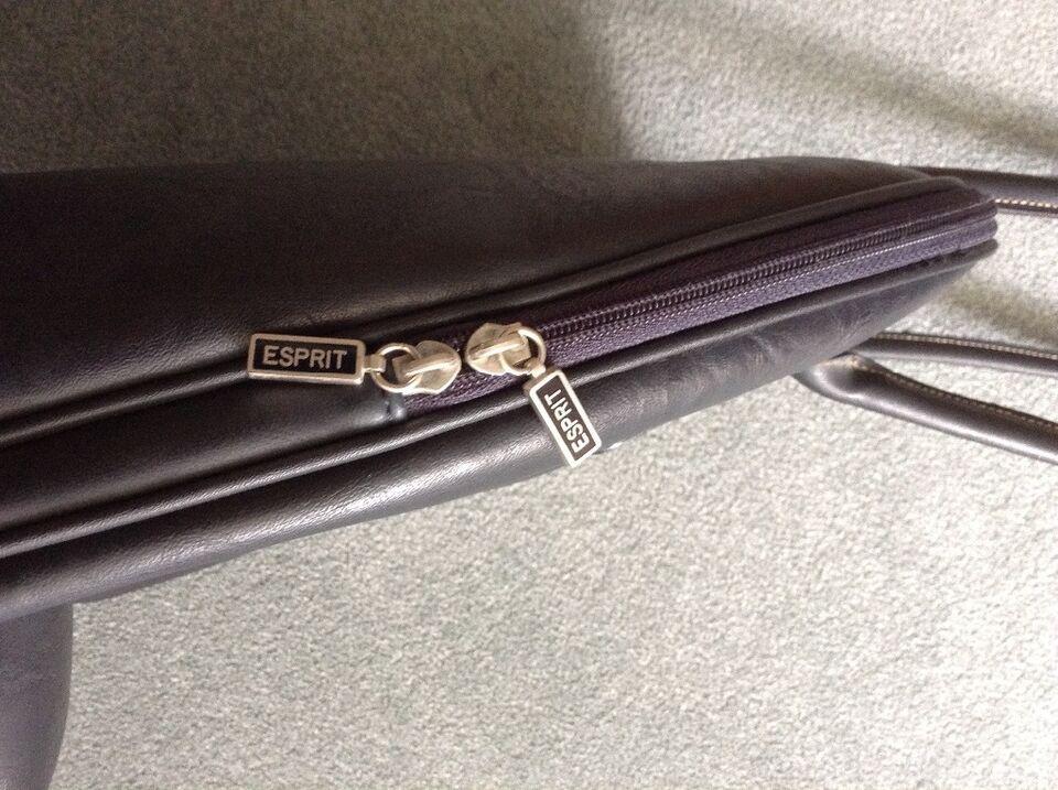 Handtasche Aktentasche Tasche von Esprit dunkelblau A4 in Herford