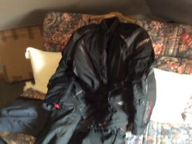 Motorbike jacket and trousers RST