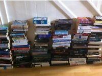 JOB LOT OF 120 FICTION BOOKS - HARD BACK AND PAPERBACK