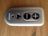 Phonax hearing aid remote control