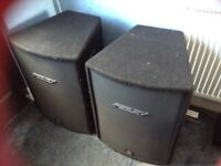 Peavey hisys 2 speakers