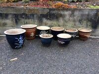Garden pots various