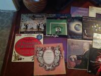 21 classical music LP's