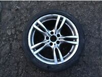BMW 18 INCH ALLOY WHEEL WITH TYRE