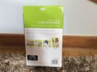 Pack of 6 vacuum storage bags brand new in original packaging