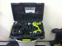 worx drill 18vcordless