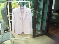 House of Fraser pale pink lady's jacket