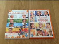 The Best Exotic Marigold Hotel (NEW & SEALED) & The Second Best Exotic Marigold Hotel DVD's