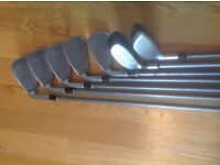 Cleveland Launcher Irons with graphite shafts