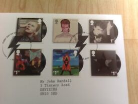 David Bowie First Day cover