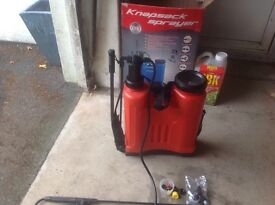 Knapsack sprayer 16 litre lever lance backpack