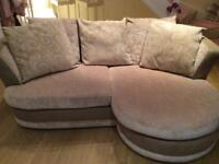 Couch and cuddle chair