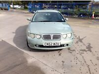 Rover 75 2.0 classic se Cdti saloon in green with 201000 miles with an mot until the 30 sept 2017