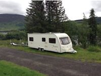 Avondale Argente 650/6 twin axle touring caravan excellent condition