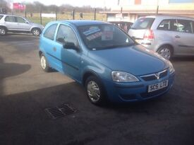 VAUXHALL CORSA LIFE 1.2 53 PLATE 96000 MILES PSH LEAVES WITH ONE YEAR MOT IDEAL FIRST CAR