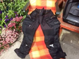 Frank Thomas padded motorbike jacket and trousers llent condition 40 pound each or 70 for both