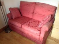 Sofa – Quality Handmade 'Shabby Chic' Two Seater with Feather & Down fillings - bargain £50 to clear
