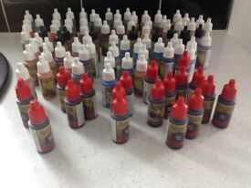 Job Lot Army Painter Warpaint, Inks & Washes All New - 100 in total PHOTO TO FOLLOW