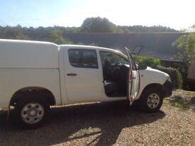 Toyota Hilux hl2 doublecab , 2013, vgc , 103000 miles no vat.