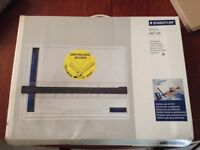 Staedtler Drawing board size A3 with drafting head included