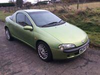 Vauxhall Tigra 1.4,2000. SPARES OR REPAIR plus PART EX CONSIDERED...