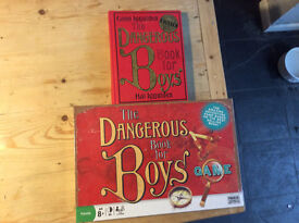 Dangerous Book for Boys Board Game and Book as New