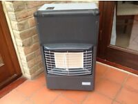 Calor gas heater - Superser plus two gas bottles