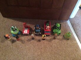 Selection of Early Learning Centre Cars and Figures