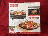 Pizza baking set by Zenker