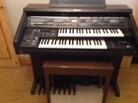 FREE TO A GOOD HOME Technics Eletronic Organ SXEX60 with digital record facility