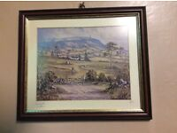 R.W. Young framed and signed prints