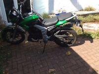 2016 lexmoto venom 125cc