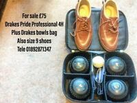 Size 4 heavy Drakes Pide