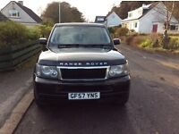 Range Rover Sport. Cream leather interior, clean condition, no marks or dents,full service history.
