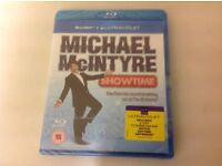 New sealed blu-ray + ultraviolet code Michael Mcintyre