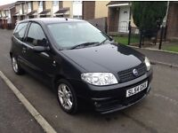 2004 Fiat Punto Active Sport 1.2 8v full year mot and full service history only one owner from newc