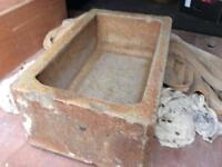Saltglazed Animal Water Trough