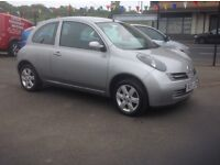Nissan MICRA urbis 1.2 2005 only 87000 miles FSH MOT ONE YEAR 3 door free 30 day/1000 mile warranty
