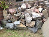 Garden Rocks . Ideal for rockery or garden decoration