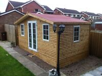 WOW 0% FINANCE, SHEDS FROM £42 P/M OVER 12 MONTHS SUMMERHOUSE, PVC OFFICE PLAYHOUSE