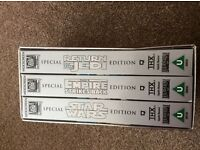Star Wars Trilogy Special Edition Video Bos Set.