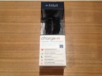 FITBIT CHARGE HR WATCH LARGE SIZE BLACK