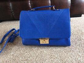 Large blue new look bag NWOT