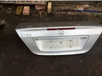 Mercedes C180 boot lid