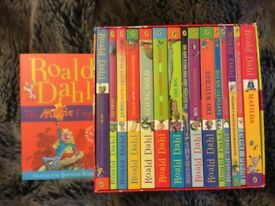 Roal Dahl book collection