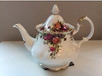 Royal Albert china teapot