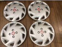 """16"""" Vauxhall wheel trims Sri spec like new,"""