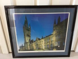 Framed Picture of Glasgow University