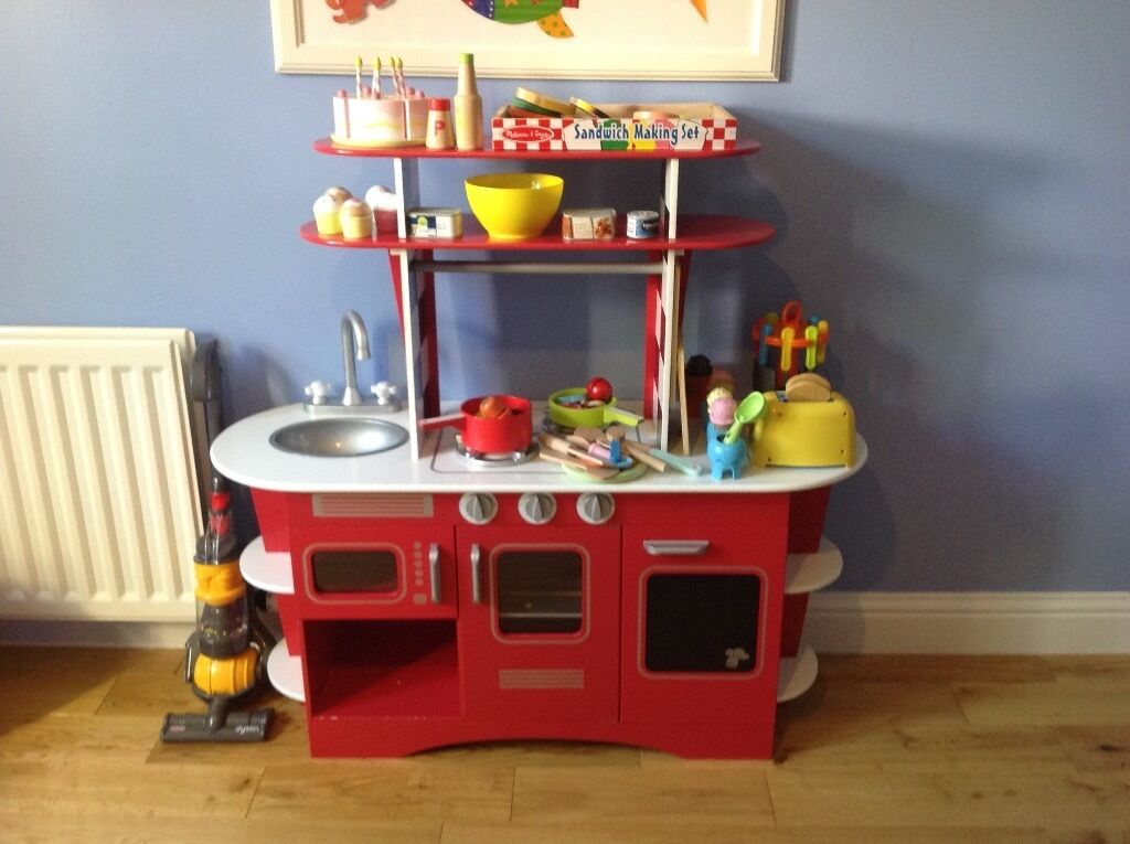 Elc Wooden Retro Kitchen Inlcuding Accessories In Dundee Gumtree